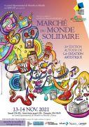 Marché du Monde Solidaire à Nancy 54000 Nancy du 13-11-2021 à 10:00 au 14-11-2021 à 18:30