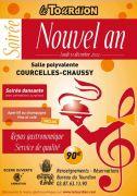 Soirée Nouvel An le Tourdion à Courcelles Chaussy 57530 Courcelles-Chaussy du 31-12-2012 à 18:00 au 01-01-2013 à 06:00