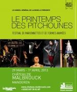 Le Printemps des Pitchounes au château de Malbrouck 57480 Manderen du 29-03-2013 à 08:00 au 01-04-2013 à 16:00