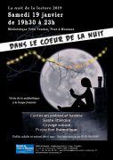 Dans le coeur de la nuit à Pont-à-Mousson 54700 Pont-à-Mousson du 19-01-2019 à 19:30 au 19-01-2019 à 22:30