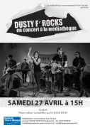Concert Dusty F'Rocks à Pont-à-Mousson 54700 Pont-à-Mousson du 27-04-2019 à 15:00 au 27-04-2019 à 17:00