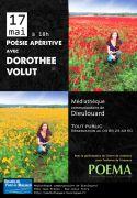 Soirée Poésie apéritive avec Dorothée Volut à Pont-à-Mousson 54700 Pont-à-Mousson 17-05-2019 à 18:00