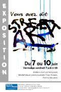 Exposition Vous avez dit Street Art ? à Pont-à-Mousson 54700 Pont-à-Mousson du 07-06-2019 à 18:00 au 10-06-2019 à 18:00