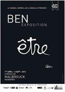 Exposition Ben au Château de Malbrouck 57480 Manderen du 01-04-2012 à 08:00 au 02-09-2012 à 17:00