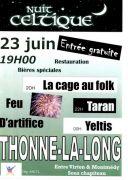 Première Nuit Celtique de Thonne-la-Long 55600 Thonne-la-Long du 23-06-2012 à 17:00 au 24-06-2012 à 00:00