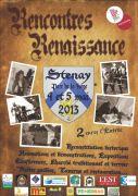 Rencontres Renaissance à Stenay 55700 Stenay du 04-05-2013 à 09:00 au 05-05-2013 à 16:00