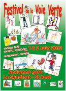 Festival voie verte Le Syndicat 88120 Le Syndicat du 01-06-2013 à 13:00 au 02-06-2013 à 16:00