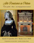 Soirée repas Renaissance Château Cons-la-Grandville 54870 Cons-la-Grandville du 14-09-2013 à 16:30 au 14-09-2013 à 21:30
