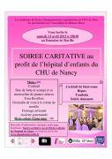 Soirée de Gala caritative au Domaine de Raville 57530 Raville du 13-04-2013 à 17:30 au 14-04-2013 à 01:00