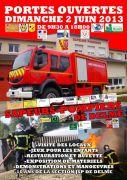 Pompiers Journée Portes Ouvertes CIS Delme 57590 Delme du 02-06-2013 à 08:00 au 02-06-2013 à 16:00