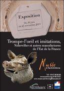 Exposition Trompe l'oeil imitations Musée Sarrebourg 57400 Sarrebourg du 16-06-2013 à 08:00 au 25-11-2013 à 16:00