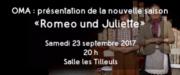 Spectacle Roméo und Juliette à Commercy 55200 Commercy du 23-09-2017 à 20:00 au 23-09-2017 à 22:00