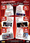 Festival de Théâtre Sarrebourg en Scène 57400 Sarrebourg du 20-10-2018 à 20:30 au 28-10-2018 à 15:00