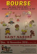 Bourse Jouets Puériculture Noël à Saint-Nabord 88200 Saint-Nabord du 18-11-2018 à 09:00 au 18-11-2018 à 17:00