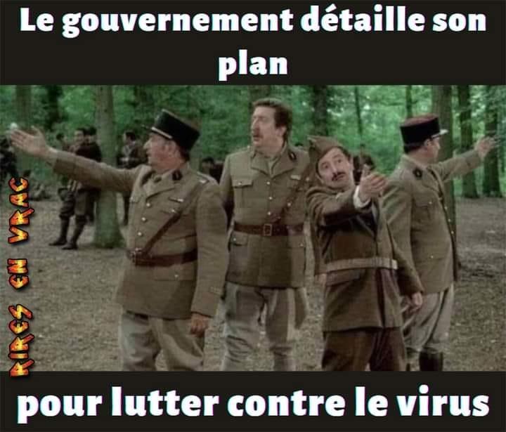 plan du gouvernement pour lutter contre virus